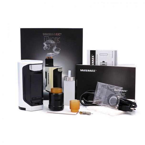 Wismec Luxotic DF 200W + Guillotine V2 RDA Starter Kit