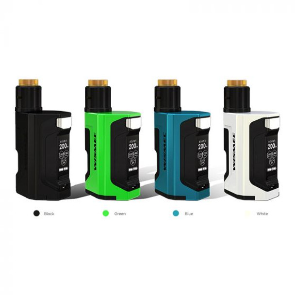 Luxotic DF 200W Starter Kit by Wismec + JayBo by Luxotic DF Kit Comes With Guillotine V2 BF RDA by Sub-Ohm Vape Kit by Cheap Wismec Vape Deals by Wholesale to the Public by Cheapest Vape Store Online by Vape by Vapor by Ecig by Ejuice by Eliquid by Wismec Vape by Wismec USA by ECIGMAFIA