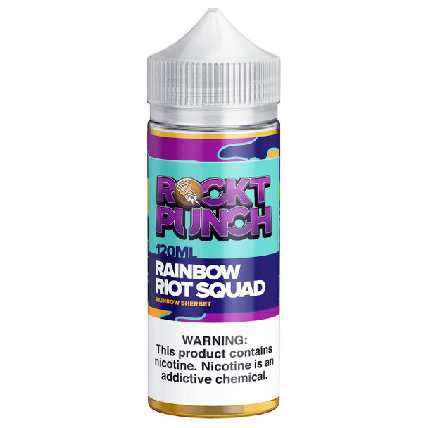 Rainbow Riot Squad E-Liquid 120ml by Rockt Punch eJuice