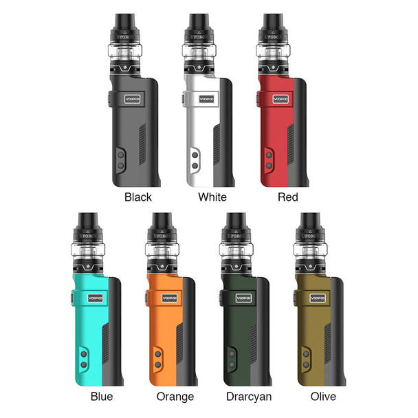 VooPoo Rex 80W TC Starter Kit - Comes With UFORCE Tank