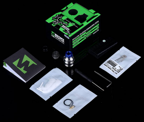 Elder Dragon 22mm RDA by Wotofo by Elder Dragon 22mm RDA Dripper Atomizer by RDA Vape Atomizers by Cheap Wotofo Vape Deals by Wholesale to the Public by Cheapest Vape Store Online by Vape by Vapor by Ecig by Ejuice by Eliquid by Wotofo Vape by Wotofo USA by ECIGMAFIA