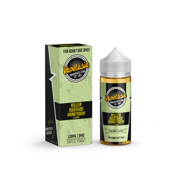 Killer Kustard Honeydew E-Liquid 100ml by Vapetasia eJuice