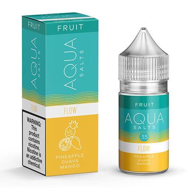 Flow Salts eJuice by Aqua Salts Fruit E-Liquid 30ML