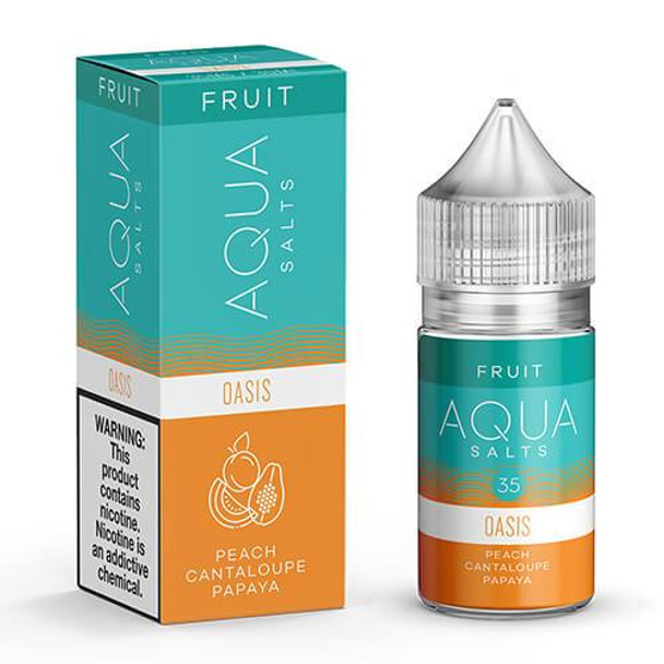 Oasis Salts eJuice by Aqua Salts Fruit E-Liquid 30ML