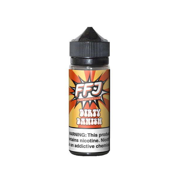 Dirty Danish E-Liquid 120ml by Food Fighter eJuice