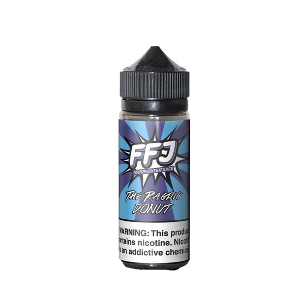 The Raging Donut E-Liquid 120ml by Food Fighter eJuice