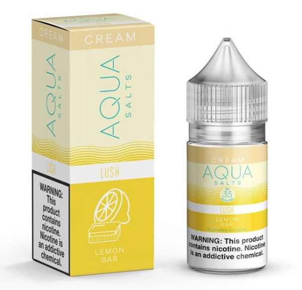 Lush Salts eJuice by Aqua Salts Cream E-Liquid 30ML