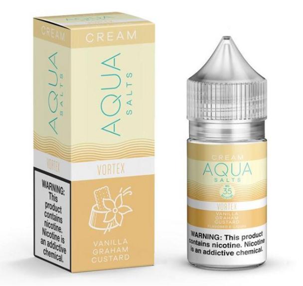 Vortex Salts eJuice by Aqua Salts Cream E-Liquid 30ML