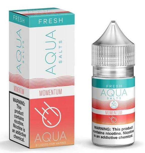Momentum Salts eJuice by Aqua Salts Fresh E-Liquid 30ML