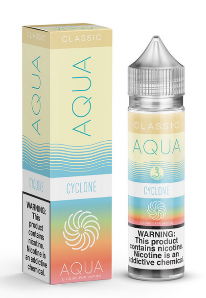Cyclone eJuice by Aqua Cream E-Liquid 60ML