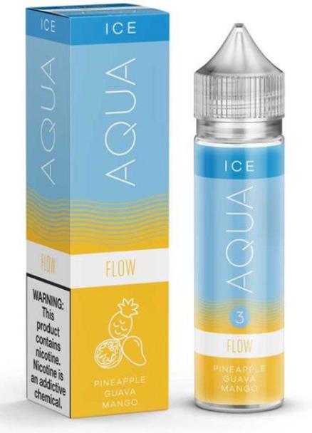Flow eJuice by Aqua Ice E-Liquid 60ML