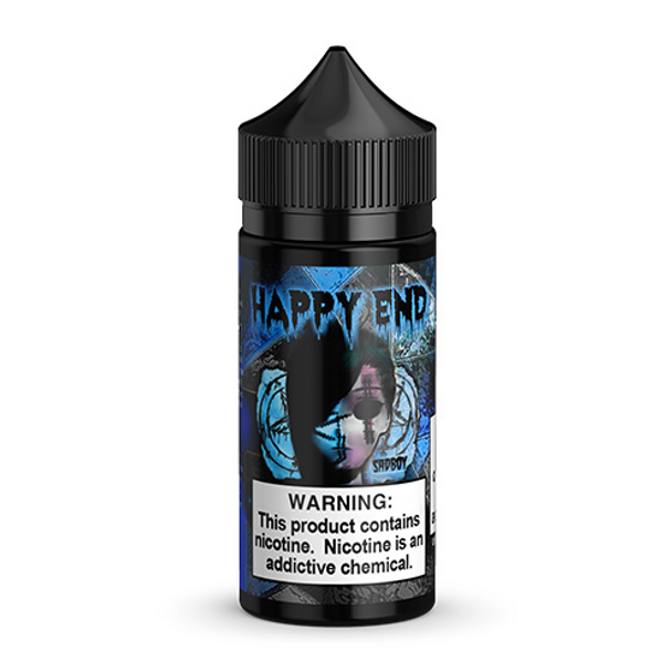 Happy End Blue Cotton Candy eJuice by SadBoy E-Liquid 100ML