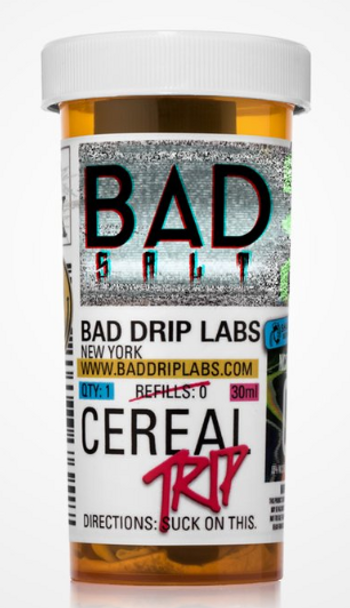 Cereal Trip Salt eJuice by Bad Drip Labs E-Liquid 30ML