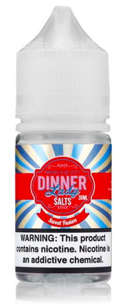 Sweet Fusion Salt eJuice by Dinner Lady E-Liquid 30ML