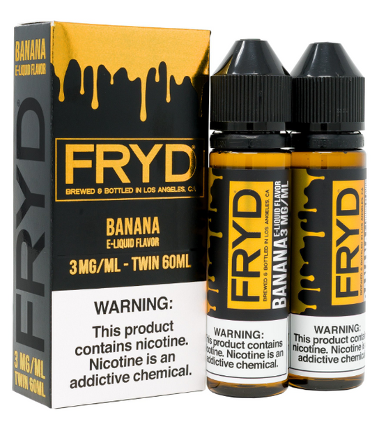 Banana eJuice by FRYD E-Liquid 120ML