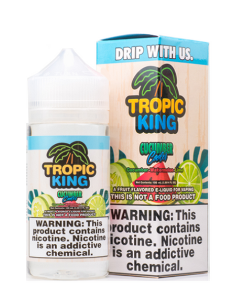 Cucumber Cooler eJuice by Tropic King E-Liquid 100ML