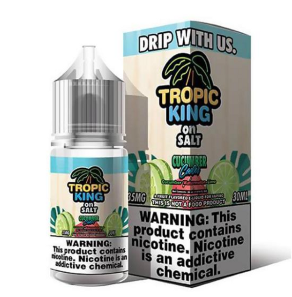Cucumber Cooler eJuice by Tropic King on Salt E-Liquid 30ML