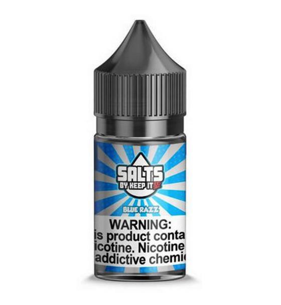 Blue Razz eJuice by Keep It 100 Salt E-Liquid 30ML