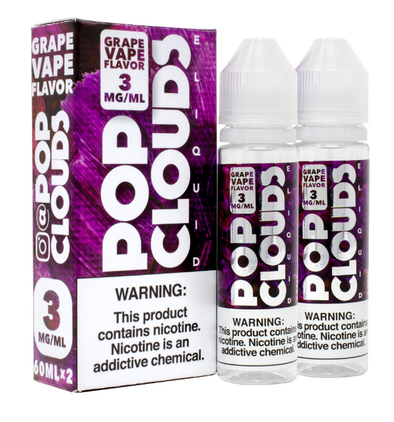 Grape Vape eJuice by Pop Clouds E-Liquid 120ML