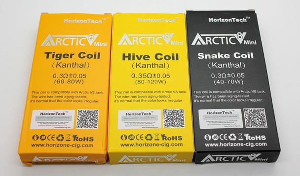 Horizon Arctic V8 Mini Coil (Pack of 5)