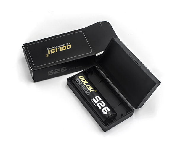 Golisi S26 2600mAh 25A 18650 by Golisi by Golisi 25A Battery by Golisi Vape Battery by Cheap Golisi Deals by Cheapest Vape Store Online by Golisi Vape by Golisi USA + ECIGMAFIA