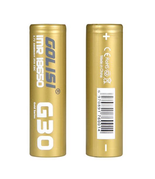 Golisi G30 20A 3000mAh 18650 Battery (Pack of 2)