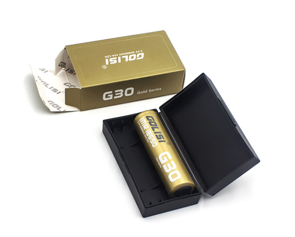 Golisi G30 3000mAh 20A 18650 by Golisi by Golisi 20A Battery by Golisi Vape Battery by Cheap Golisi Deals by Cheapest Vape Store Online by Golisi Vape by Golisi USA + ECIGMAFIA