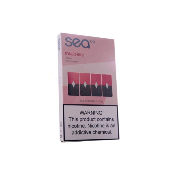Sea Pods Raspberry - Pack of 4
