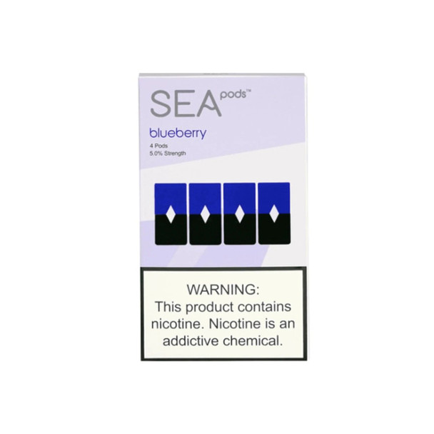 Sea Pods Blueberry - Pack of 4