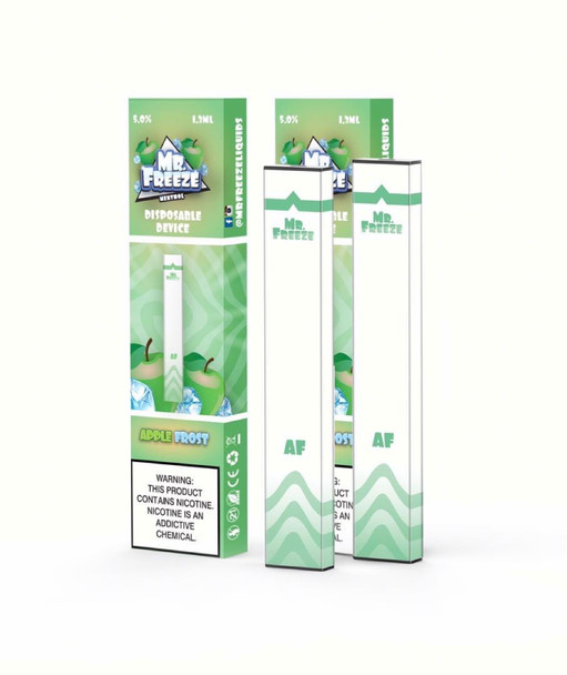 Mr.Freeze Apple Frost Disposable Pod Device