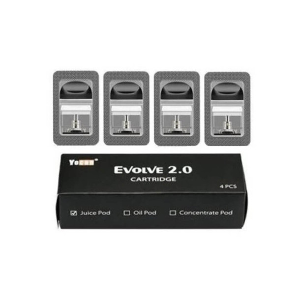 Yocan Evolve 2.0 Replacement Pod - (Pack of 4)