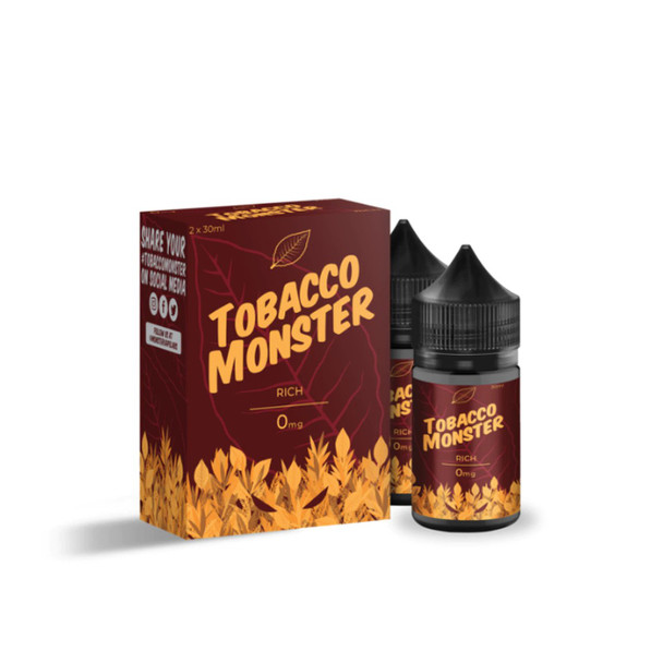 Tobacco Monster Rich 60ml (2x 30ml) E-Juice