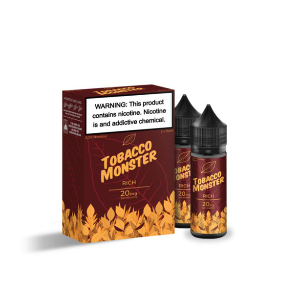 Tobacco Monster Rich Salt 30ml (2x 15ml) eJuice