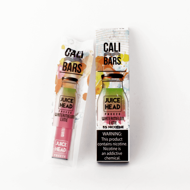 Juice Head Freeze Cali Bars Watermelon Lime Disposable Pod