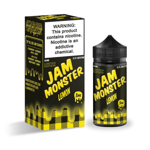 Lemon 100ml eJuice by Jam Monster
