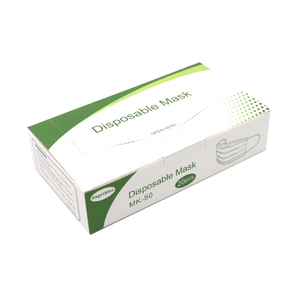 Disposable 3Ply Face Mask - Pack of 50
