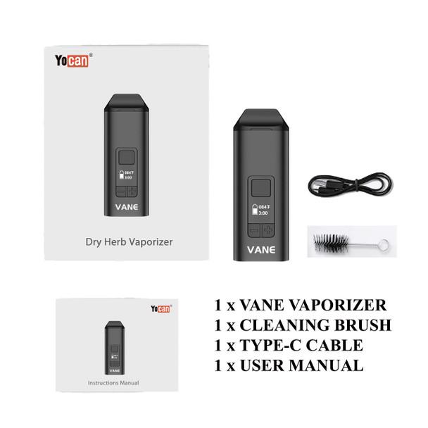 Yocan Vane Vaporizer Kit