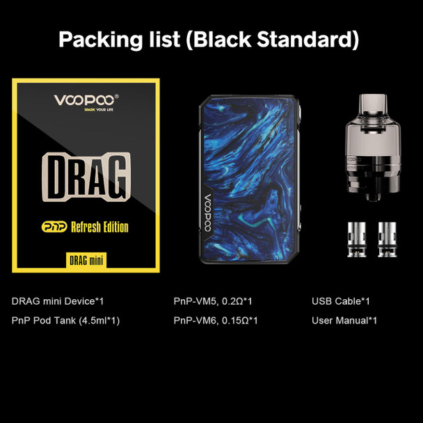 VooPoo Drag Mini Refresh Edition Kit