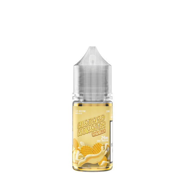 Custard Monster Vanilla Custard Salt 30ml eJuice by Jam Monster