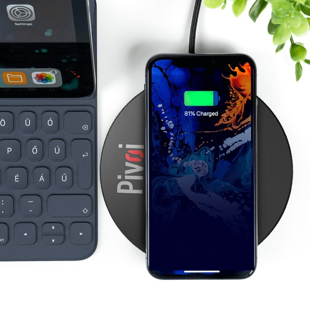 Pivoi 10W Qi Certified Wireless Charging Pad