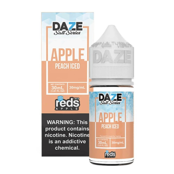 Red's Salt Apple Peach Iced 30ml E-Juice
