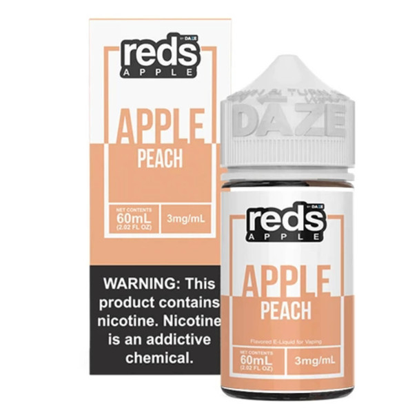 Red's Apple Peach 60ml E-Juice