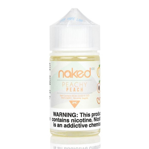 Peachy Peach E-Liquid 60ml | Naked 100 E-Juice