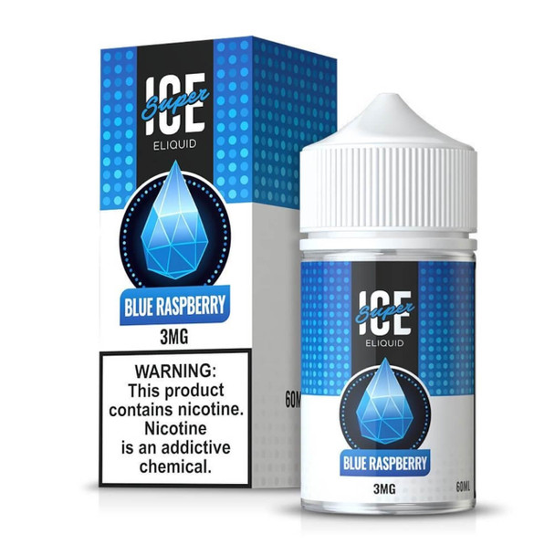 Super Ice Blue Raspberry 60ml E-Juice
