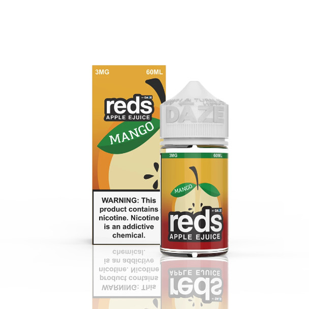 Reds Apple Mango  E-Liquid 60ml by 7 Daze eJuice (No Outer Packaging)