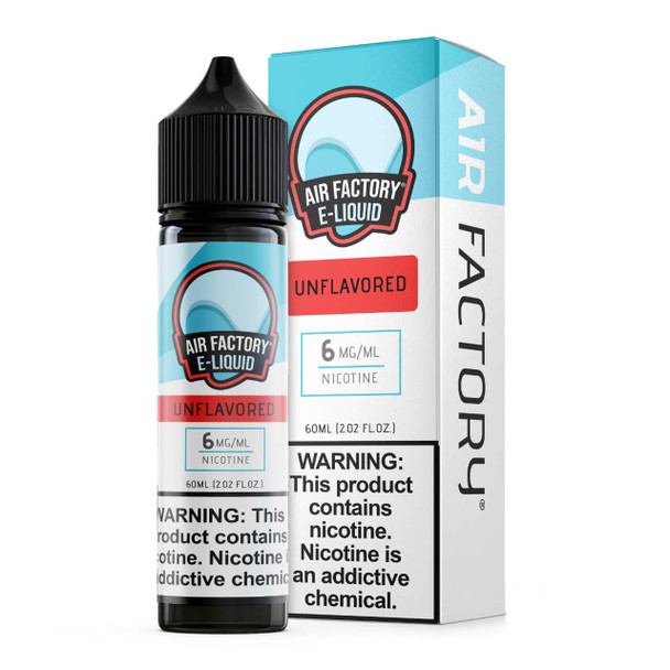 Air Factory Unflavored 60ml E-Juice