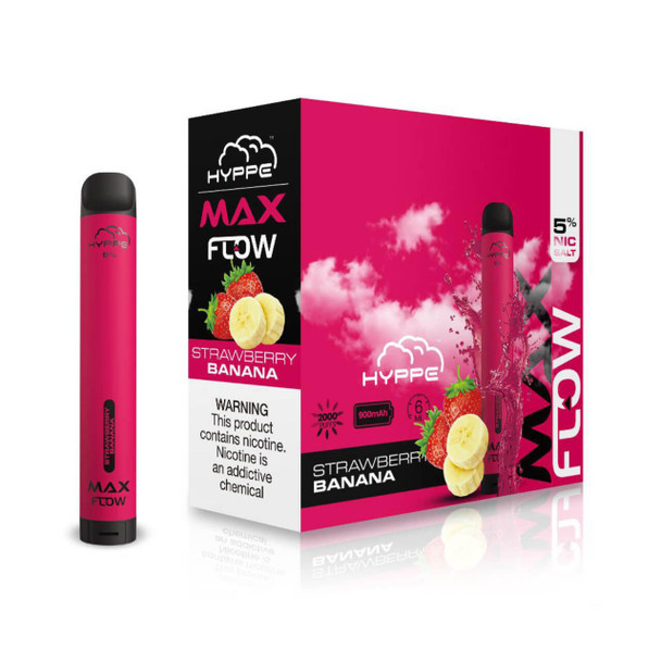 HYPPE MAX Flow Strawberry Banana Disposable Vape Device