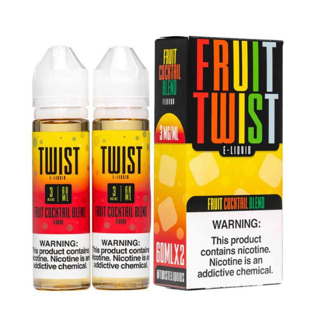 Twist E-Liquids Fruit Cocktail Blend 120ml E-Juice