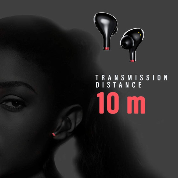 Pivoi True Wireless Earbuds with 10000mAh Power Bank Charging Case