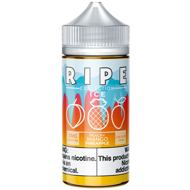 Ripe Ice Collection Peachy Mango 100ml E-Liquid